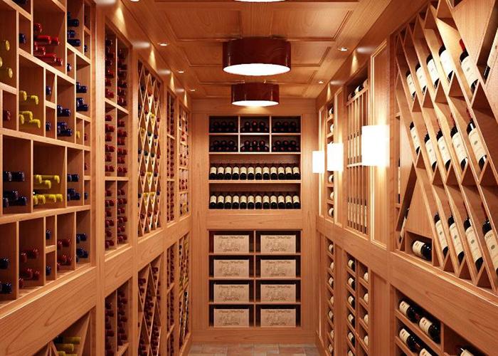 福建自建别墅酒窖